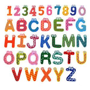lettre chiffre alphabet frigo aimant sticker magnet magn tique enfant educatif ebay. Black Bedroom Furniture Sets. Home Design Ideas