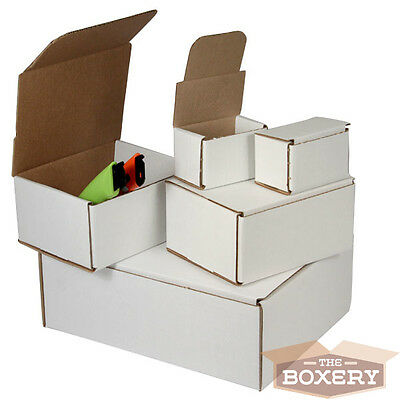4 X 4 X 4 Corrugated Shipping Mailers From The Boxery 50pk