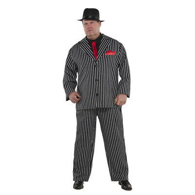 Gangster Costume Mob Boss Plus size XXL (48-52) Burlesque Halloween Costumes ()