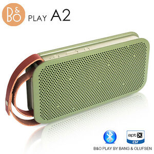 B&O Bang & Olufsen BeoPlay A2 Bluetooth Mobile Speaker - GREEN BANG (iPhone iPad