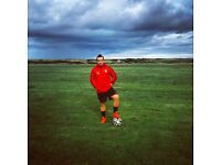One to one or Groups football coaching and private football lessons