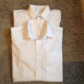 M&S school shirts - 15yrs