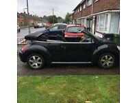 Be beetle convertible 12 months mot