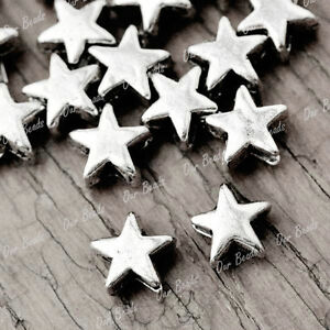 400pcs-Tibet-Style-Tibetan-Silver-Star-Spacers-Bead-Findings-TS1994