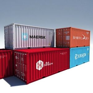 20' and 40' Used Sea Containers for sale!