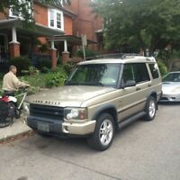 2002 land rover discovery SE7