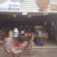 Antiques and collectibles ongoing sale Valleyview garage store