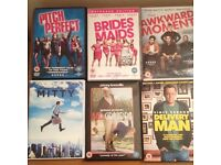 DVDs - Mix of Comedy Films