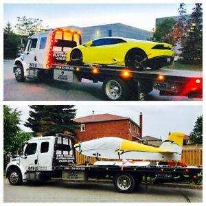 FLATBED TOWING AND  MOVING SERVICES 24/7 CALL NOW 416 830 8854