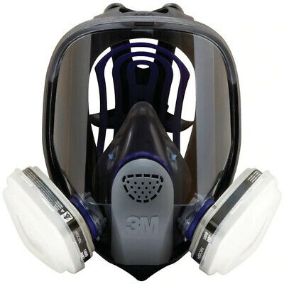 3M, 7 IN 1, FF-403 Full Face Reusable Respirator For Spraying & Painting, LARGE Business & Industrial
