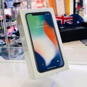Brand new sealed iphone x 64gb silver from apple store tax invoic Carrara Gold Coast City Preview