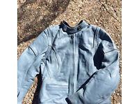 Frank Thomas lady rider leather motorcycle jacket