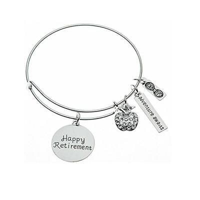 Teacher Retirement Bracelet, Teacher Jewelry, Teacher Retirement Gift