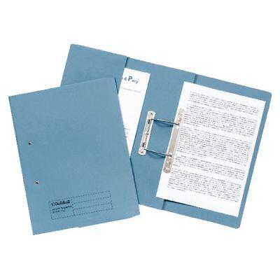Guildhall Blue Foolscap Pocket Spiral File (Pack of 25) [GH22136]