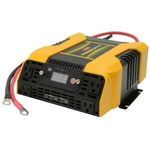 2000-Watt Dc To Ac Power Inverter With Usb Port And 3 Ac Outlet