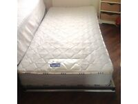 Single Guest Bed and Mattress