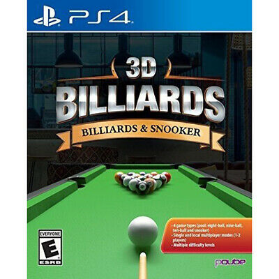 3D BILLIARDS & SNOOKER [E]