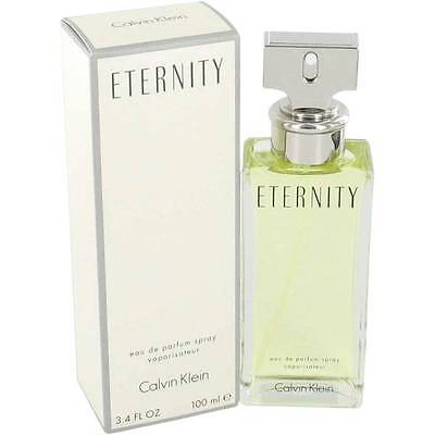 ETERNITY * CK Calvin Klein * Perfume for Women * EDP * 3.4 oz * NIB SEALED