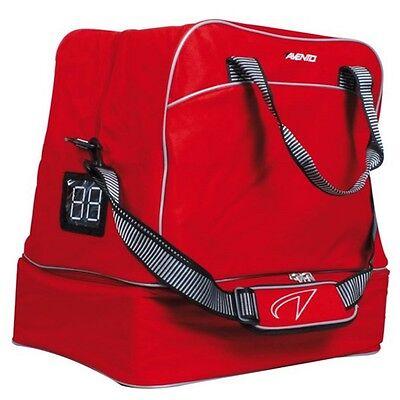 Avento Sporttasche Fußballtasche Sportausrüstung Freizeit Tasche Rot  (50AB)