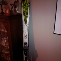 k2 amp rictor skis 3yrs old rarley used and salomon quest60 boot