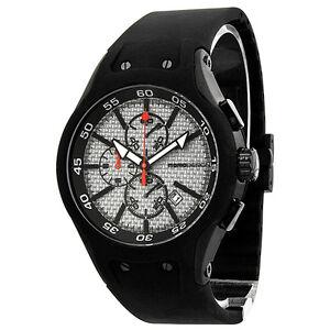Momo-Design-Vanguard-Carbon-Fiber-White-Dial-Black-Rubber-Mens-Watch