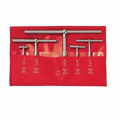 Starrett S229gz 12-6 5 Pc Telescoping Gage Set