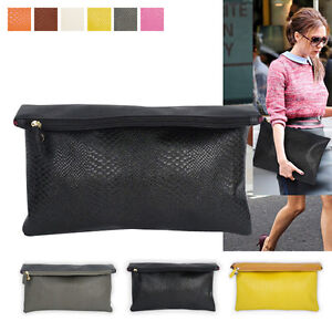 Style2030 NEW KOREA Womens Oversized Envelope Purse Clutch Bags [B1238]