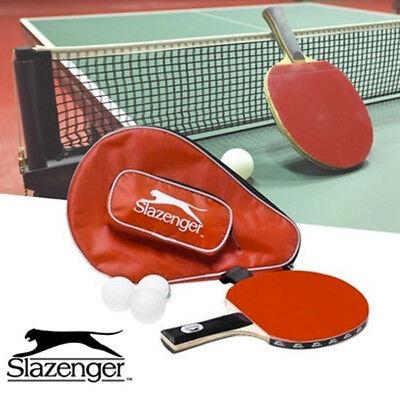 Set Da Per Gioco Ping Pong Con 1 Racchetta Racchette 3 Palle Borsa Sport Tennis