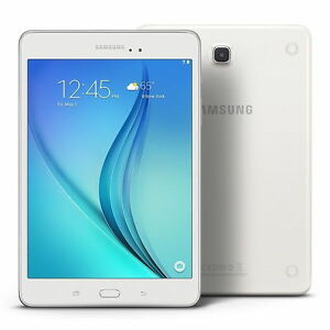 "Samsung Galaxy Tab A SM-T350 8"" Tablet with 1.2GHz Quad-Core Pro"
