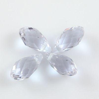 Pendants 10 Pcs Swaro-element 6*12mm Teardrop Crystal beads E amethyst