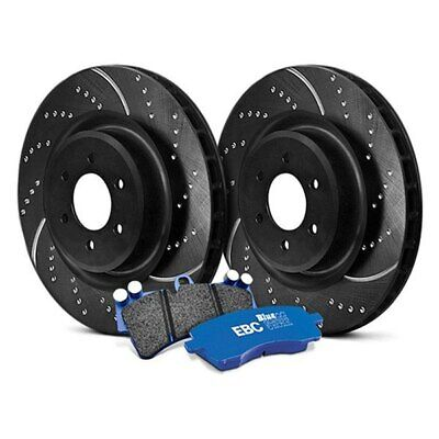 For Audi A6 Quattro 05-11 Brake Kit EBC Stage 6 Track Day Dimpled & Slotted