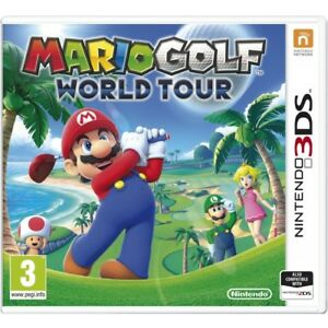 Nintendo 3ds Game Mario Golf World Tour 2ds Compatible