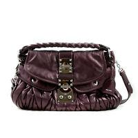 Authentic Miu Miu Matelasse Lux Leather Coffer Bag