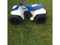 Mint Suzuki lt50 quad (with owners manual)