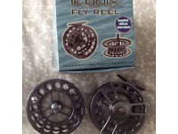 Fly reels 9/10 brand new fly fishing