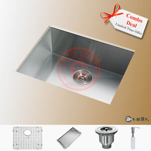 "23"" Comtemporary Style Stainless Steel Ktchen Sink / FREE STUFF"