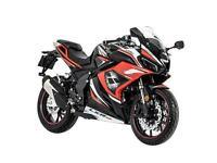 Lexmoto LXR SE 125 125cc Sports Bike Finance UK Delivery Euro 5 Latest Model