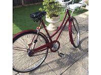 Vintage Raleigh ladies bike