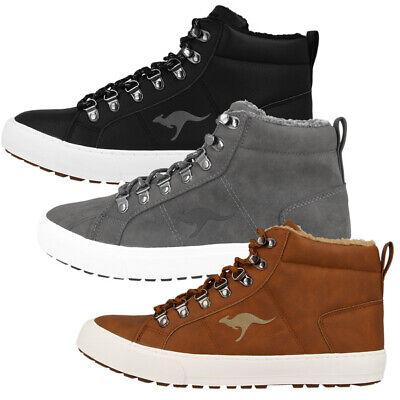 Herren High Boot Tops (KangaROOS KaVu V Herren High Top Sneaker Winter Schuhe Boots Stiefeletten 78010 )