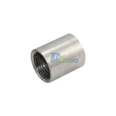 12 0.5 Female X Female Threaded Pipe Fitting Stainless Steel Ss304 Npt New