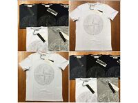 Mens designer t shirts polo Moncler Ralph Lauren stone island Givenchy ea7 dsquared