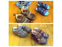 2 x set of toddler shoes