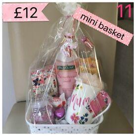 Gift baskets, valentines, Mother's Day, Birthdays
