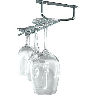 Glass Hanger Rack - Chrome - 10
