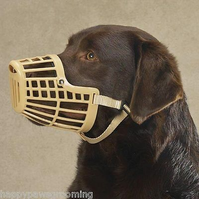 Guardian Gear XL DOG Quick Fit/Release Training Safety HEAVY DUTY BASKET (Guardian Gear Basket Muzzle)