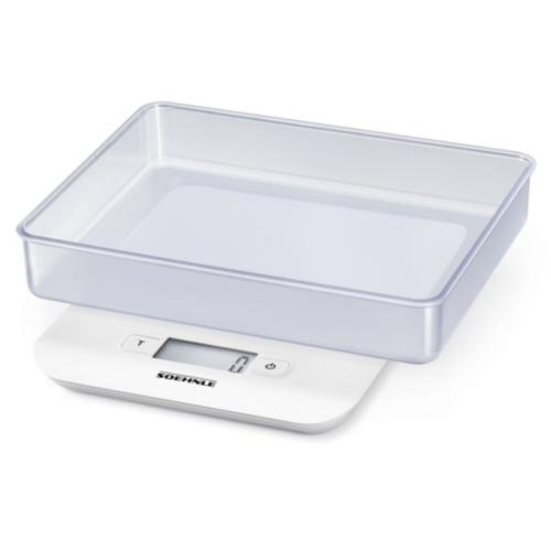 Soehnle 65122 Compact Digitale Küchenwaage White