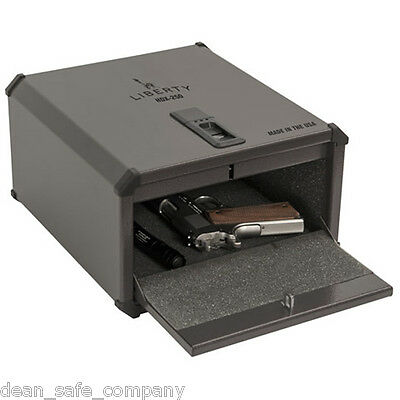 Liberty HDX-250 SmartVault Biometric Handgun Pistol Safe Fingerprint Gun Box