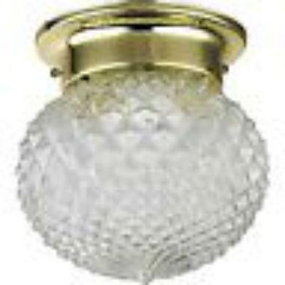 CATALINA Polished Brass Flush Mount Ceiling Lights 6 Count Model 210BOGO