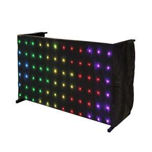 LEDJ STAR18 Tri LED Matrix DJ Disco Stand Ultra Bright Table Star Cloth