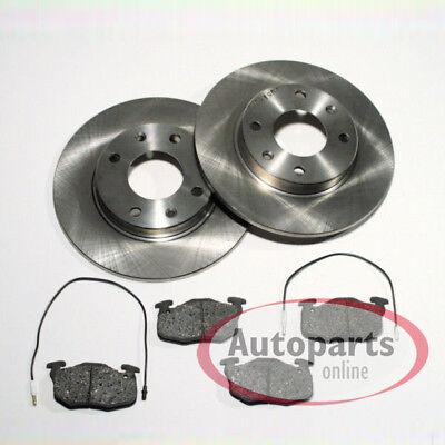 Bremsbeläge Bremssteine Citroen ZX AX Break Peugeot 306 Break 106 1 vorne